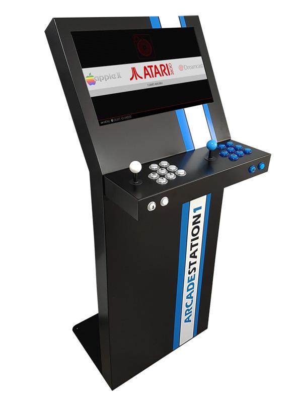 Cabinet Arcade station retropie 02